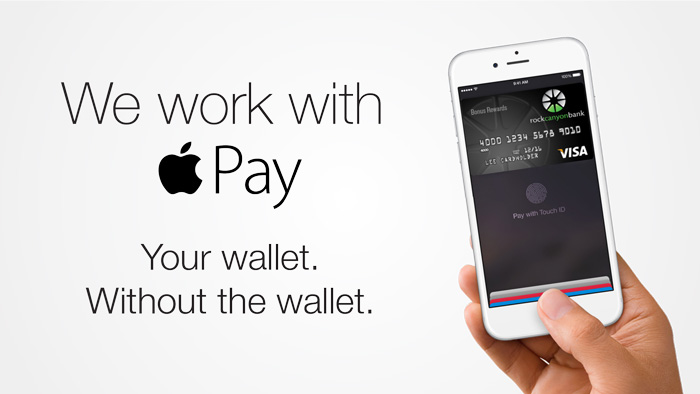 Rock Canyon Bank now supports Apple Pay